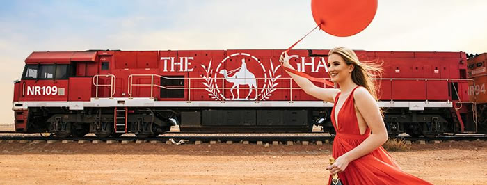 The Ghan [Adelaide : Alice Springs : Darwin]